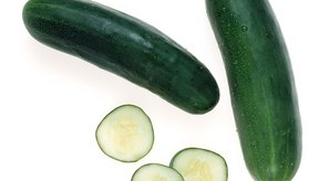 Los pepinos no contienen muchas calorías.
