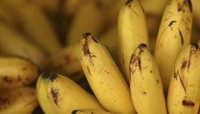 Los plátanos son moderadamente altos en fructosa.