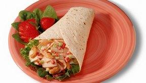 Elegir porciones más pequeñas reduce las calorías.
