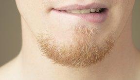 Testosterona y crecimiento de la barba.
