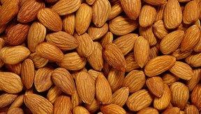 Las almendras son una buena fuente de potasio y magnesio.