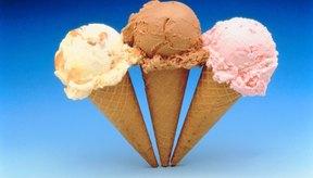 Con mezcla de flan puedes preparar un helado suave y cremoso.