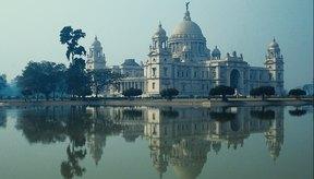El Victoria Memorial es uno de los tantos edificios británicos en Calcuta.