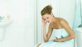 La diarrea puede acompañarse de calambres, naúsea o dolor abdominal.