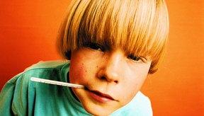 La temperatura que sube de repente puede resultar en convulsiones febriles en los niños.