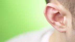 Espinillas en el oído.