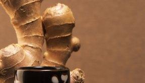 El té de jengibre es un remedio natural para el estreñimiento.