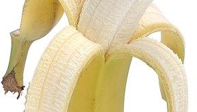 La banana contiene muchas veces el valor calórico de verduras sin almidón.