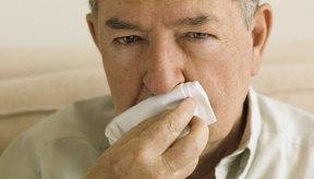 Los resfriados frecuentes a menudo dejan como resultado una nariz roja.
