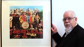 El artista Peter Blake diseñó la tapa del disco.