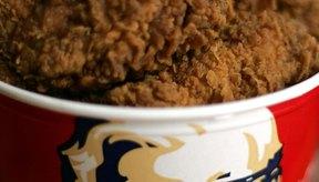 Una sola pieza de pollo KFC puede contener cientos de calorías.