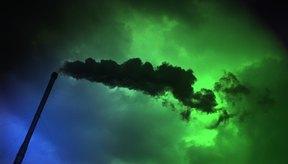 La contaminación del aire es un problema serio.