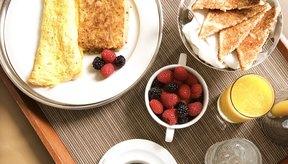Una omelette de cuatro huevos tiene menos de 400 calorías.