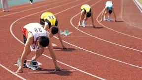 El movimiento al correr hace trabajar los músculos de las piernas inferiores.