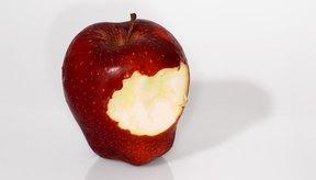 La compota de manzanas es una buena fuente de fibra.