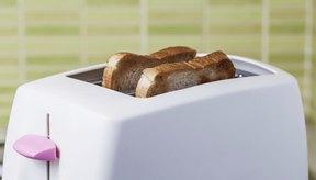 Pan en tostadora.