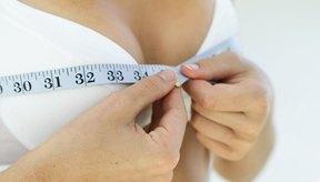 El porcentaje de grasa de tus pechos no está relacionado con la grasa corporal total.