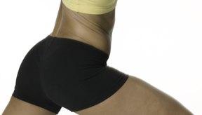 El step aerobics fortalece las pantorrillas, muslos y trasero.