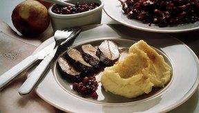 La carne de venado es una fuente nutritiva de proteína magra.
