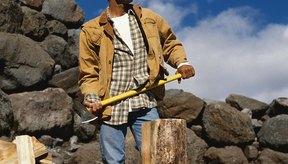 Cortar madera te provee de un ejercicio de cuerpo completo.