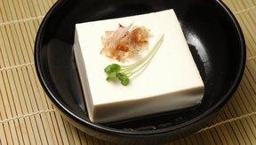 El tofu es un alimento a base de soja.