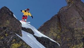 Toparse con rocas y otras superficies duras puede ocasionar agujeros en tu patineta de nieve.