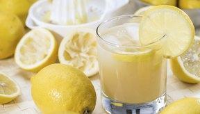 Los limones contienen muchísimos antioxidantes.