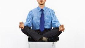 Las técnicas de meditación y relajación pueden utilizarse en el trabajo o casa cuando te sientas estresado.