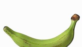 Un plátano verde mediano tiene 78 calorías.