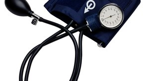 Banda para medir la presión sanguínea.