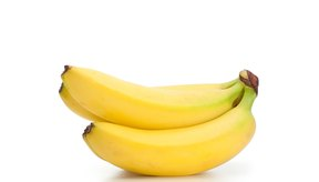 Come una banana antes de entrenar.