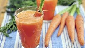 Jugo de zanahoria.