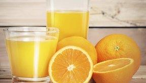 Un vaso grande de jugo de naranja puede contener más de 50 gramos de carbohidratos.