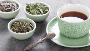 Taza de té de hierbas.