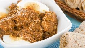 Estofado de pollo rojo etíope.