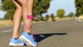 El tendón de Aquiles es un lugar común para los desgarros de los tendones.