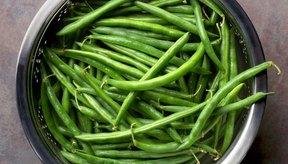 Las judías verdes son una opción de verduras sin almidón.