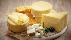 Plato de quesos.
