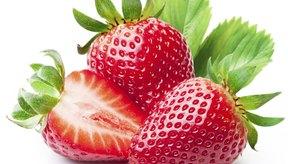 Las fresas están permitidas en la dieta HCG.