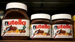 El Nutella es uno de los productos dulces más requeridos.