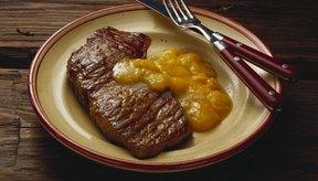 La carne roja magra es una excelente fuente de hierro.