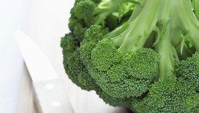 El brócoli contiene grandes cantidades de fibra, vitaminas y minerales.