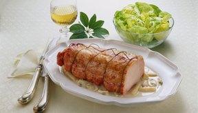 El lomo de cerdo es un corte magro.