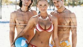 Uniformes para voleibol de playa.
