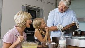 La leche hace que los productos horneados sean más suaves.