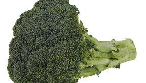 El brócoli es un alimento productor de gas.