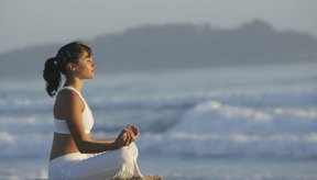 Las prácticas de respiración son muy meditativas.
