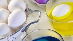 Los colorantes de alimentos pueden producir manchas rebeldes en la piel.