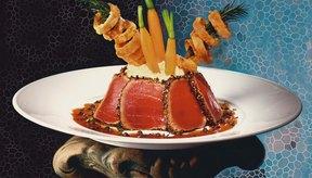 Los filetes de atún son una de las fuentes de proteína de rápida cocción,