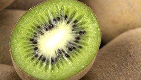 El kiwi es una buena fuente fibra.
